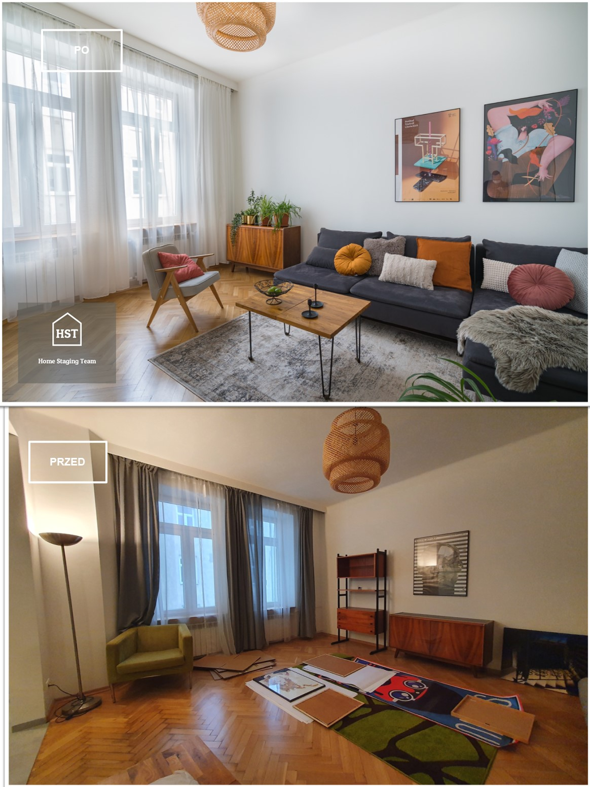 home staging kamienica